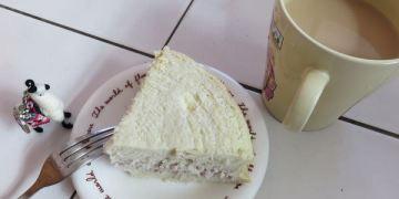 桃園。焦糖小點烘培坊。牛奶芋頭蛋糕。蛋糕新秀~芋頭控請進