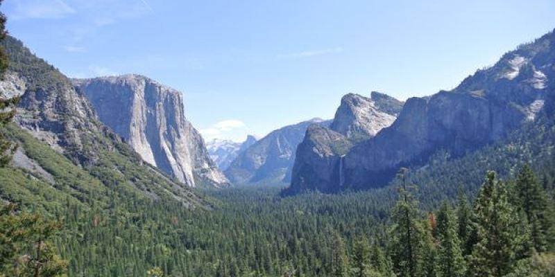 《美國加州》優勝美地。Yosemite National Park。風景如其名