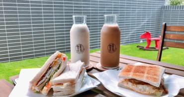 新竹早餐│享食光健康三明治‧早午餐‧下午茶。新店充滿乾燥花氛圍‧IG熱門打卡點*