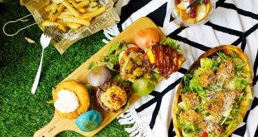 新竹美食│TABLE JOE 喬桌子廚房(遠百店)。期間限定野餐佈置+繽紛野餐組超好拍!