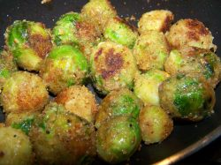 Small Of Deep Fried Brussel Sprouts