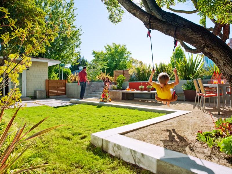 Shapely Kids Sunset Sunset Magazine Backyard Ideas Images Room Backyard Ideas