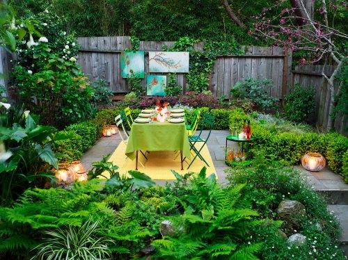 Medium Of Outdoor Backyard Decor