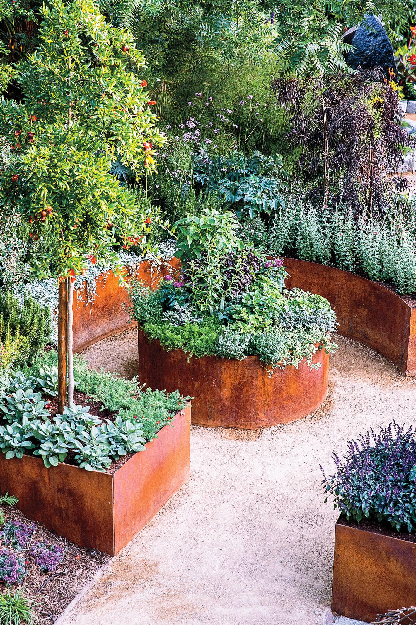 Corner An Edible Garden Sunset Sunset Magazine Backyard Landscaping Layout Ideas Backyard Garden Design Layout Create Small Backyard Ideas outdoor Backyard Landscaping Layout