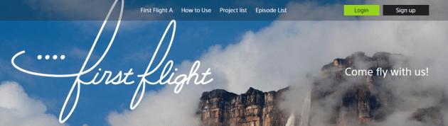 sony_first_flight_banner
