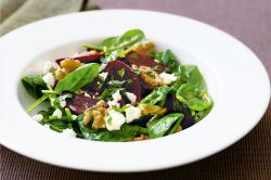 Enthralling Goats Cheese Salad 37177 1 Goat Cheese Salad Apples Walnuts Goat Cheese Salad Pecans Beetroot Baby Spinach