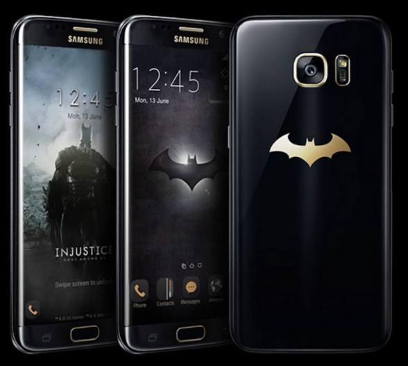 Galaxy S7 Edge edición especial Batman