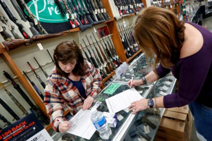 gun sales spike