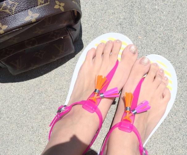 流蘇果凍鞋