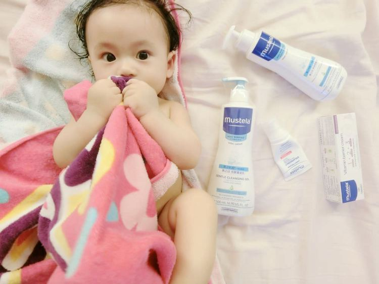 【育兒好物】❤法國 mustela慕之恬廊 最適合寶寶肌膚的保養品