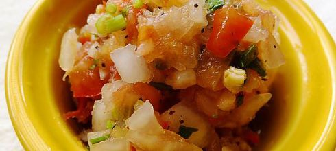 [食譜] 墨西哥莎莎醬做法(Salsa)