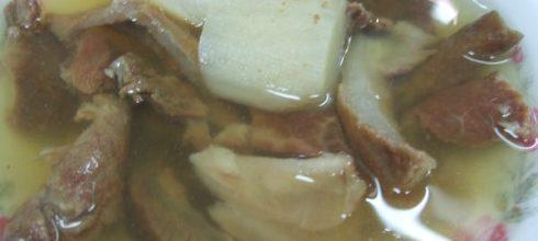 味蕾最愛你:阿村牛肉湯
