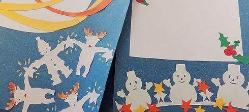 [禮物] 手工聖誕節卡片做法(簡單手工卡片書)