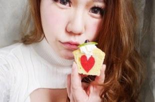 [食譜] 心型剖面蛋糕做法 心型切面杯子蛋糕做法