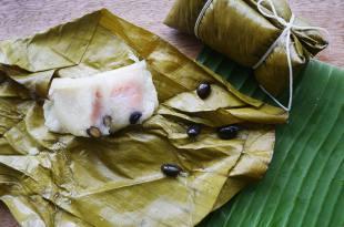 [食譜] 泰式粽子做法(椰奶粽子,芭蕉粽子)(ข้าวต้มมัด)
