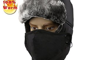 Allezola Warm Unisex Winter Trooper Hat