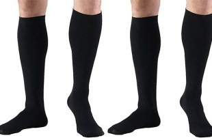 Windsor Men's (WCM202) and Women's (WCL202) Gradual Compression Socks, 2 Pairs
