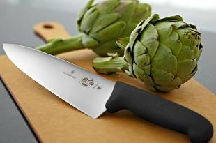 Victorinox 8 Inch Fibrox Pro Chef's Knife 40520, 47520, 45520 Frustration Free Packaging