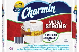 Charmin Ultra Strong 18 Mega Roll