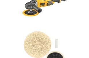 Save 43% on DEWALT polisher and buffer kit