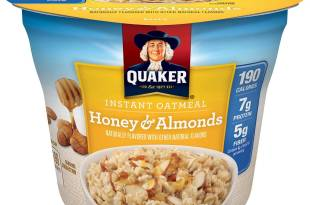 Quaker Instant Oatmeal Instant Oats Express Cups (Pack of 12)