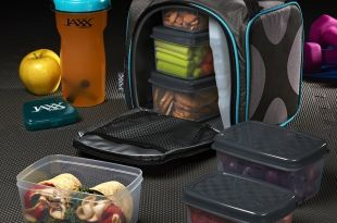 Jaxx FitPak Insulated Meal Management with Portion Control Container Set