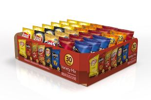 Frito-Lay Variety Pack, Classic Mix, 30 pack- 51.5 oz