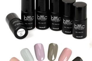 BMC 6pc Nude Color Themed UV/LED Nail Lacquer Gel Polish Master Set – Oasis Collection