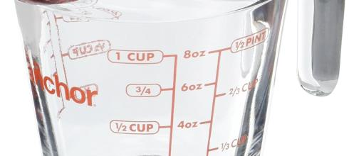 Anchor Hocking - 8 oz Measuring Cup