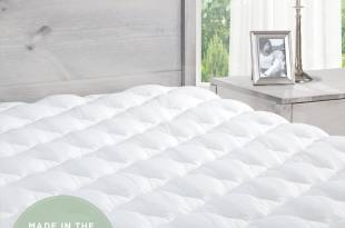 Extra Plush Mattress Pad with Fitted Skirt