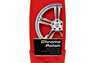 Mothers 05212 California Gold Chrome Polish – 12 oz.