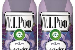 Air Wick V.I.POO Pre-Poo Toilet Spray VALUE PACK, Lavender Superstar, 1.85 oz, Pack of 2