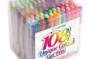 Courise 108 Unique Colors Gel Pens Gel Pen Set