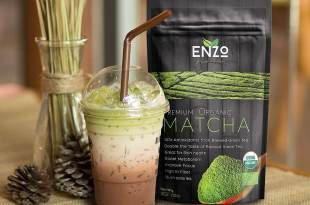 Classic & Ceremonial Blend Matcha Green Tea Powder USDA Certified Organic Premium Culinary Maccha Zen Buddhist Grade Teas