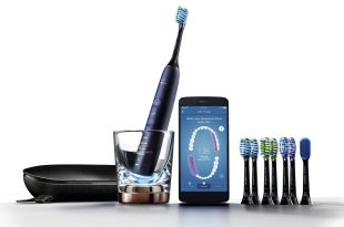 Philips Sonicare DiamondClean Smart Electric, Rechargeable toothbrush for Complete Oral Care, with Charging Travel Case, 5 modes