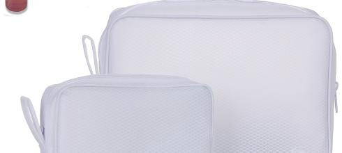 Toiletry Bags Travel Bottles Set 12pcs, TSA Approved Clear Leak Proof Containers for Cosmetic Toiletries