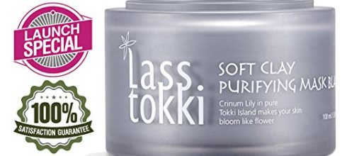 Face Mask, Lasstokki BLACK Purifying Clay Mask, Deep Moisturizing Mud Mask, Gently Exfoliating Black Mask