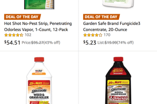 Save 25% on Fertilizer & Pest Control Products