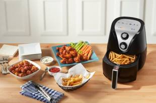 Insignia™ – Analog Air Fryer 3.4 QT 氣炸鍋 $27.99