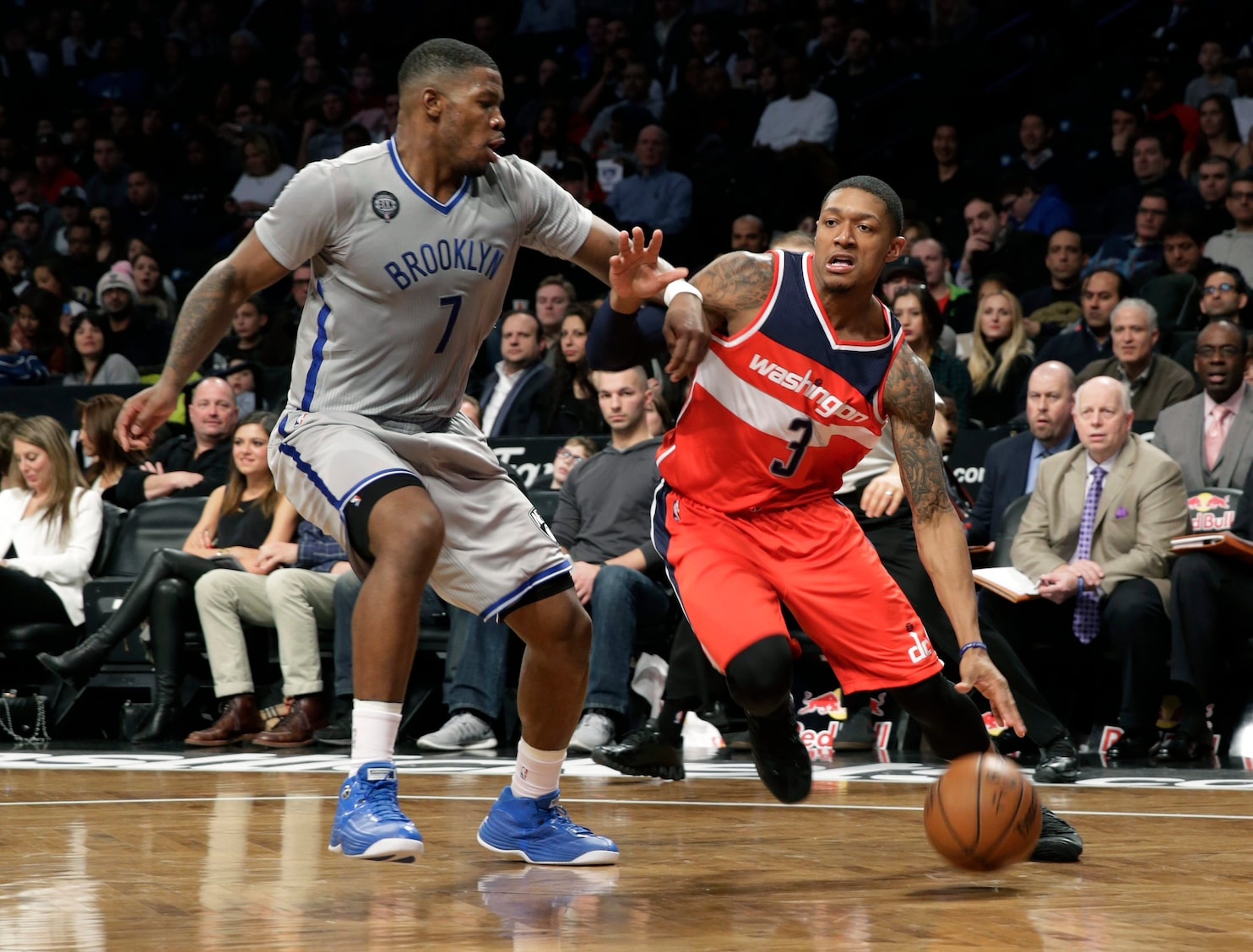 guard bradley beal led 6 players in double figures with 17 points nine