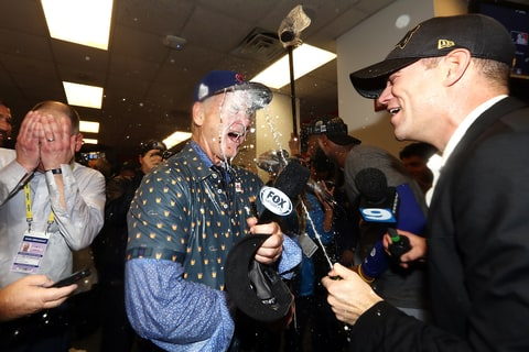 Bill Murray Chicago Cubs World Series win champagne