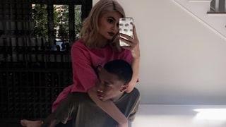 Kylie Jenner Shares Rare Photo With Boyfriend Tyga's Son King Cairo