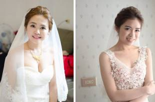 婚宴造型~選擇適合自己的all back新娘髮型