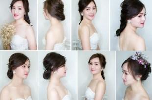 新娘秘書│氣質首選就是韓系的新娘造型