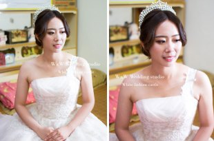 婚宴新娘秘書|甜心的自然浪漫的晚禮服風格