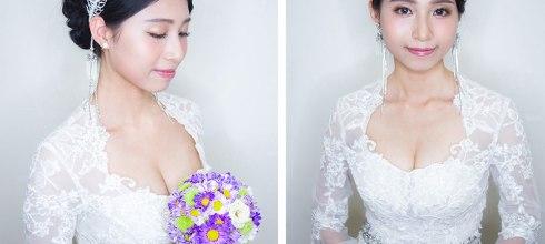 新娘造型│給妳經典時尚不俗氣