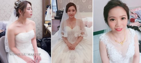 新娘懶人包│各種風格的白紗婚宴造型