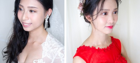 新娘妝容推薦│招牌輕透自然的新娘妝容