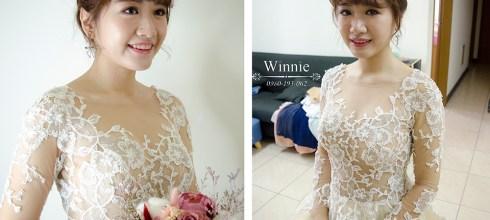 台南新秘│甜美高雅的小公主新娘造型