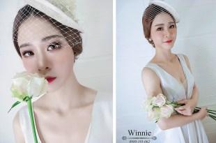 台南新娘秘書│歐式質感復古的白紗造型